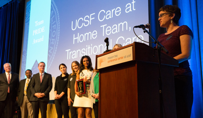 2015 UCSF Medical Center Team PRIDE award